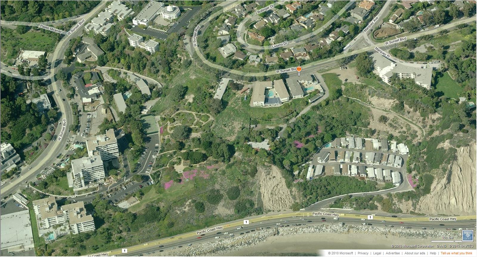Forgotten Landmark Bernheimer Oriental Gardens, Pacific Palisades (CA).  Site Of Bernheimer Oriental Gardens ...