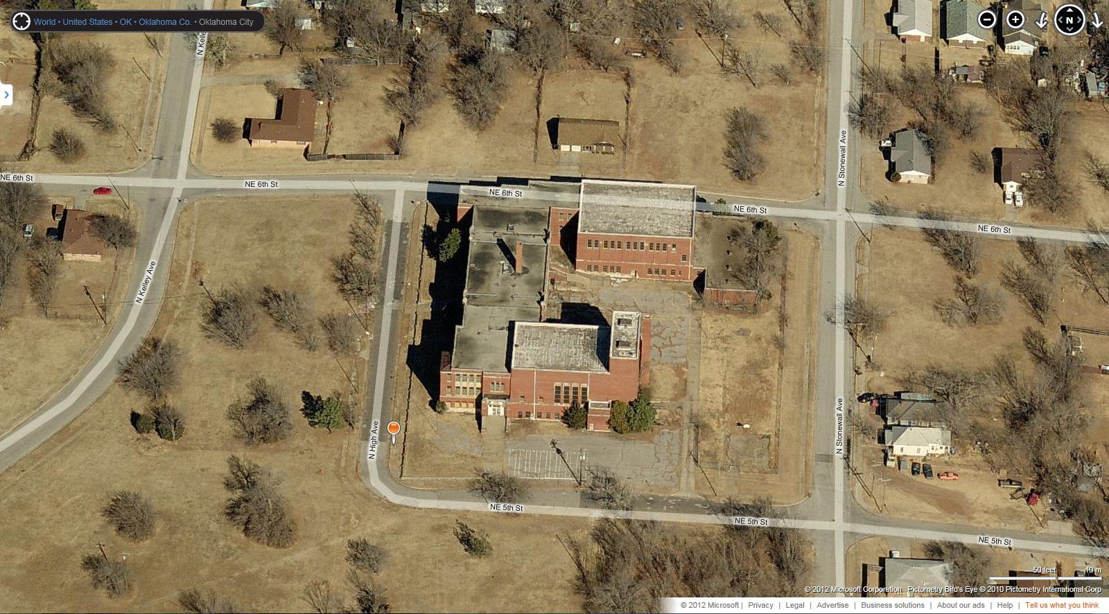 forgotten landmark old frederick douglass high school oklahoma city