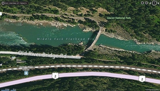 Birds Eye view from Microsoft Bing Maps, accessed 1/6/2013