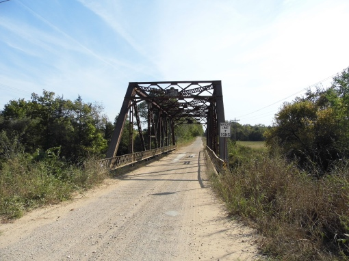 Old U.S. 70 (County Road E2080) at Caddo Creek