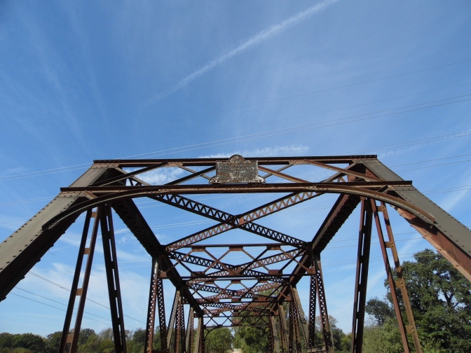 Old U.S. 70 (County Road E2080) at Caddo Creek