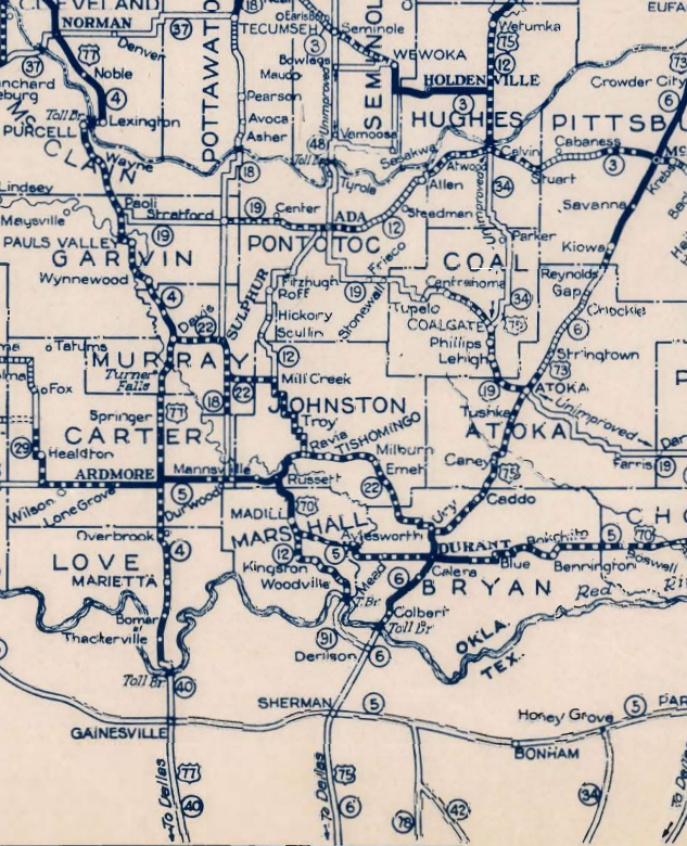 oklahoma Historic Highway Guides Page 2