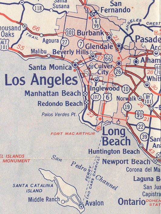 Historical Cities Los Angeles California Is Now Available On - Google Maps Us 101
