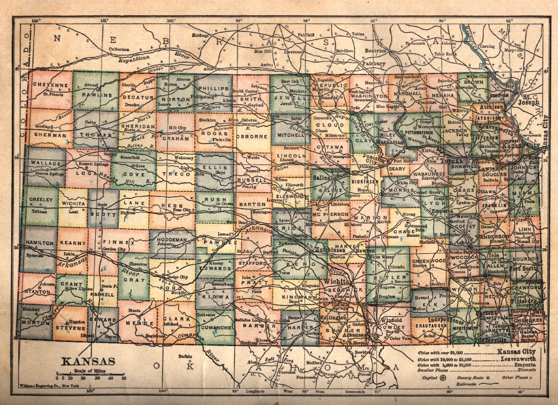 American Auto TrailKansas US Highway Is Now Available On - Map of us hwy 50